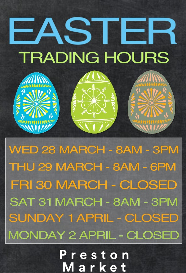 easter monday trading hours - photo #42